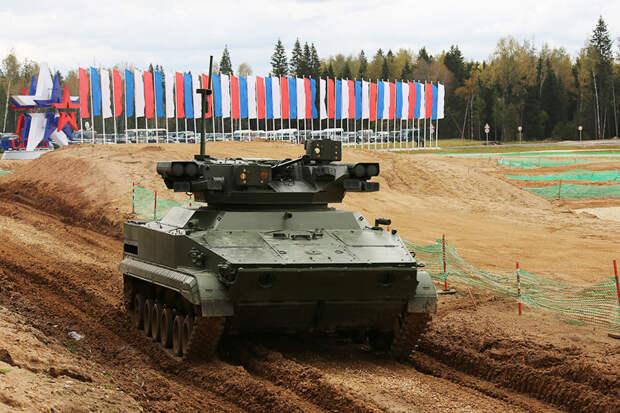 """""""Удар"""": что известно о боевом роботе на базе БМП-3"""