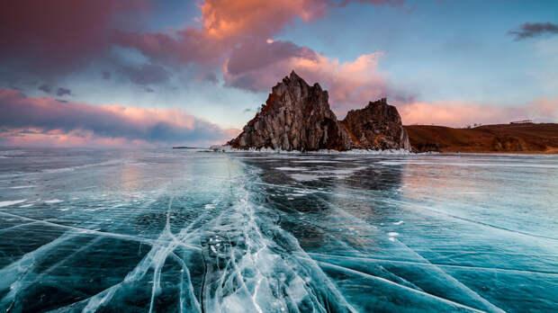 Самые необычные виды льда  в России