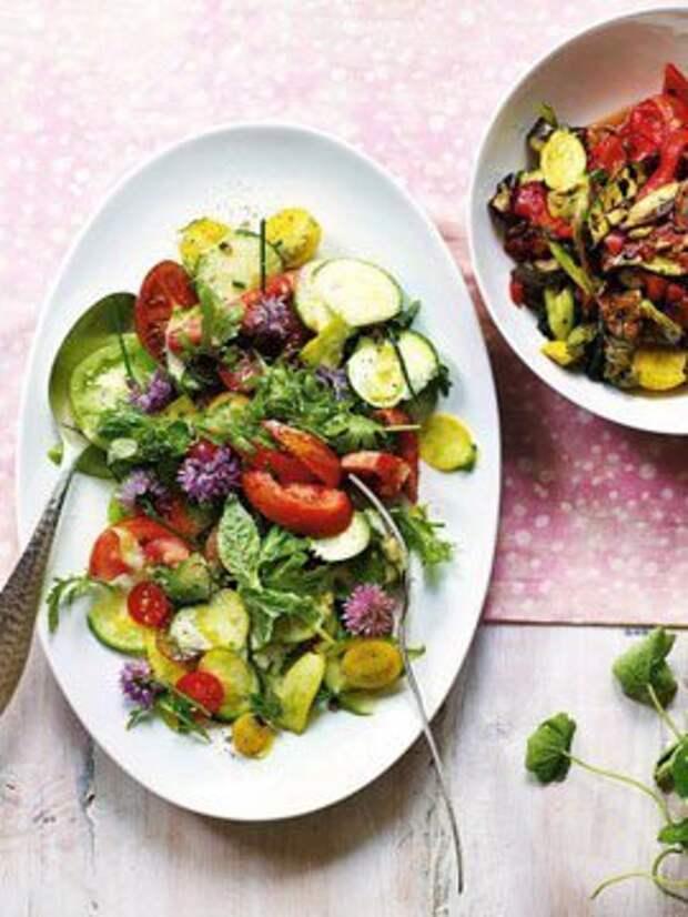 Салат из овощей — Рецепты Джейми Оливера