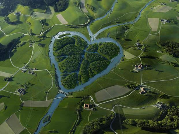Река «Сердце» (Heart River), фотография