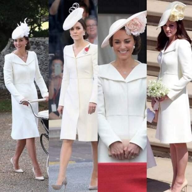 Уже надевали трижды: В Сети активно обсуждают образ Кейт Миддлтон на свадьбе принца Гарри