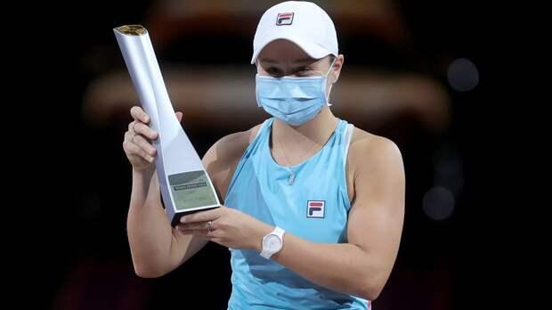 Барти в финале победила Соболенко и выиграла турнир в Штутгарте
