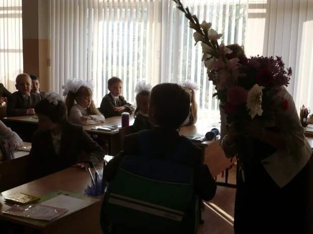 Школьники младших классов. Фото автора.
