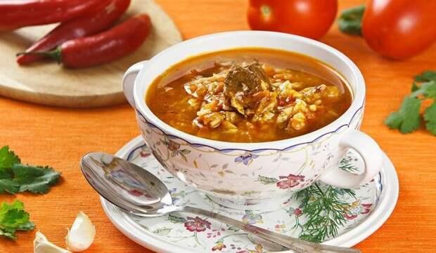 Варю суп харчо по рецепту В. Похлебкина
