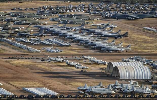 Запчасти для самолетов ВВС США ищут на свалках и в музеях