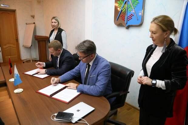 Главы Ижевска и Малопургинского района подписали соглашение о взаимном сотрудничестве