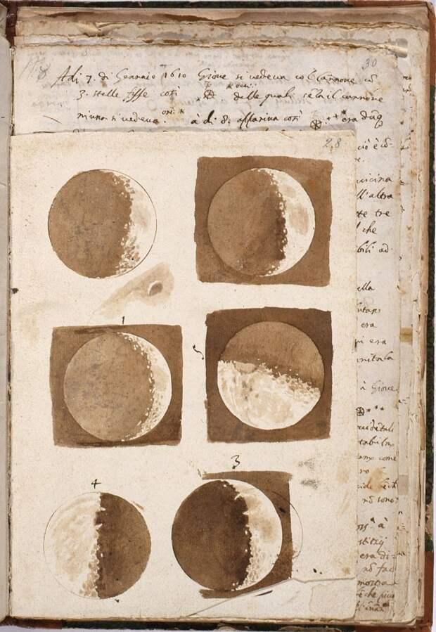 Первая астрономическая зарисовка