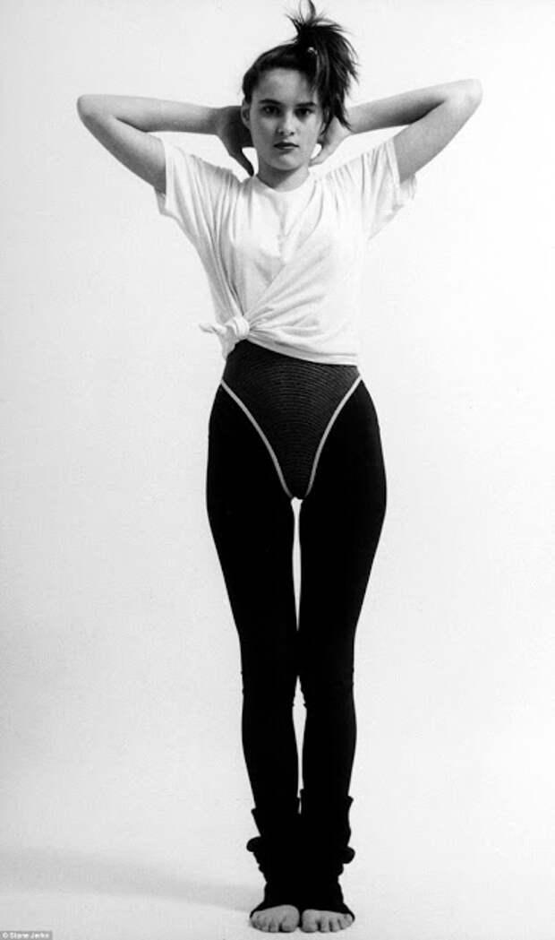 Начинающая фотомодель Мелания Кнавс из Словении в 1987 году. Теперь её знает весь мир под именем Мелании Трамп.