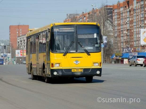 В Ижевске изменят часть маршрутов общественного транспорта