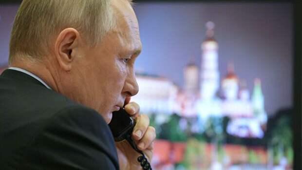 Путин и Трамп обменялись поздравлениями с 75-летием Победы