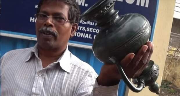 Антигравитационная ваза из Индии: загадка в 2000 лет