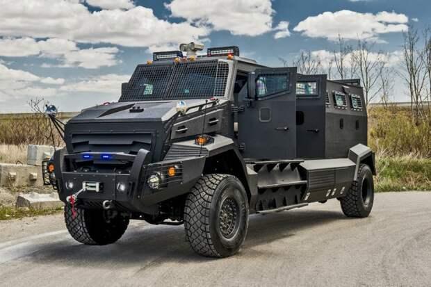 INKAS Huron APC авто. интересное, автомир, бронемашины, броня, самые-самые, факты