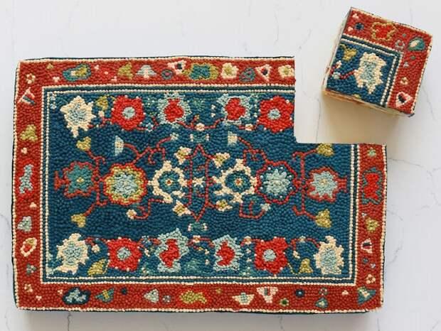 Пекарь создает съедобные персидские ковры, за которыми гоняются даже звёзды Голливуда