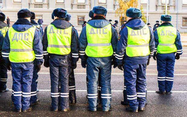 В России сократят каждого пятого гаишника