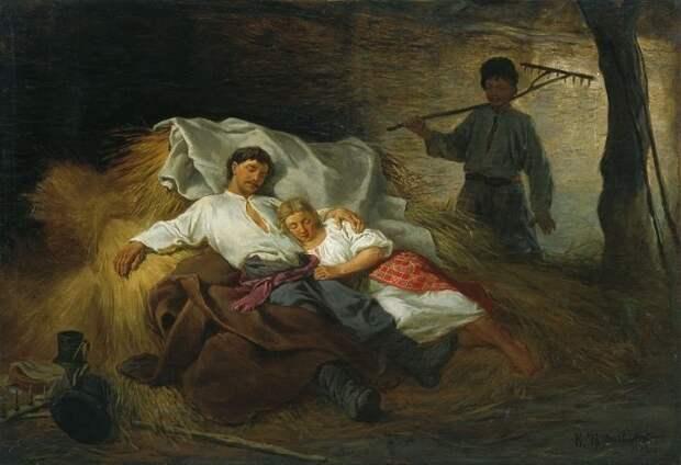 Сон супругов в одной постели древняя русь, замужество, контрацепция, позор, семья, смотрины