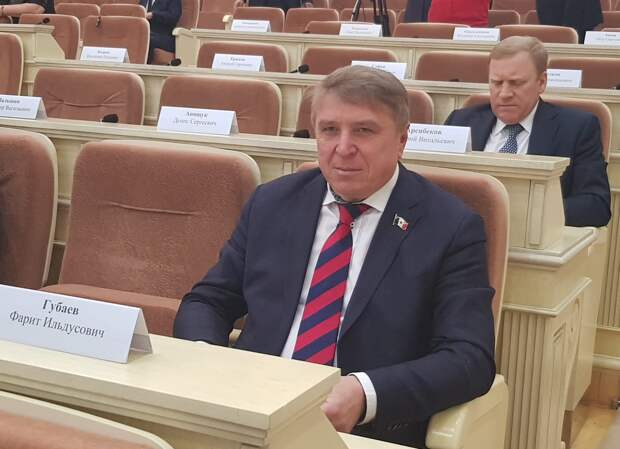 Фарит Губаев сложит полномочия депутата Госсовета Удмуртии