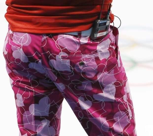 Восхитительные штаны норвежских кёрлингистов (фото)