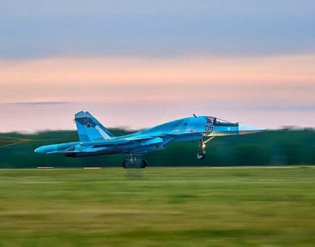 Су-34 разбился под Хабаровском