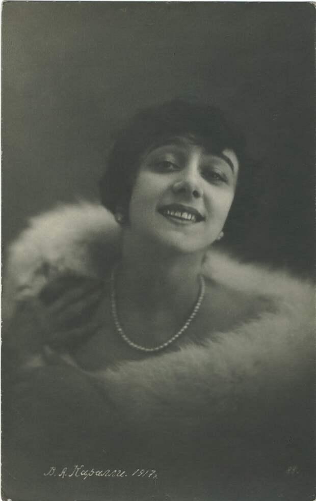 Вера Алексеевна Каралли (27 июля 1889, Москва, Российская империя — 16 ноября 1972, Баден, Австрия) — русская балерина, актриса немого кино, балетный педагог. Эмигрировав из России, работала в Европе.