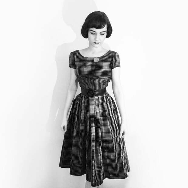 1950-е девушка, перевоплощение