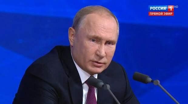 Путин ответил Цимбалюку, кто несет ответственность за конфликт в Донбассе