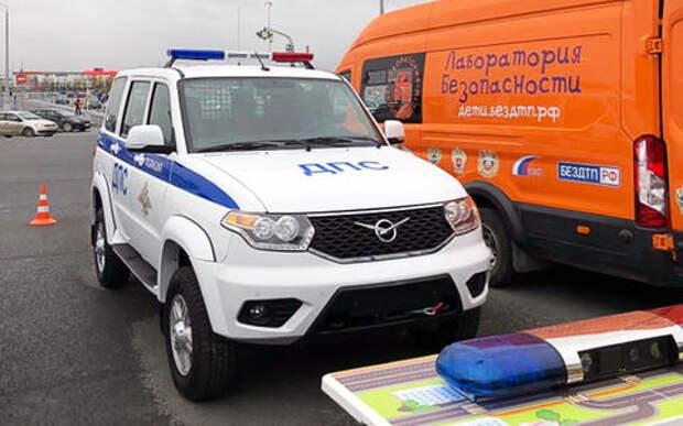 Еще один новый автомобиль ДПС: версия УАЗ Патриот не для продажи