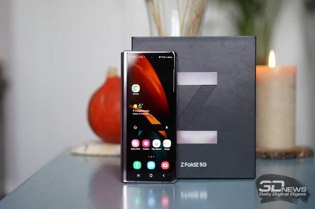 Начат массовый выпуск Samsung Galaxy Z Fold 3 и Z Flip 3: анонс ожидается 3 августа