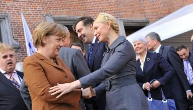 Как рассорились две аферистки или Почему Меркель ненавидит Тимошенко