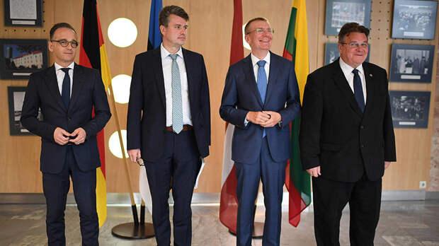 Литва, Латвия и Эстония аннулируют свой суверенитет