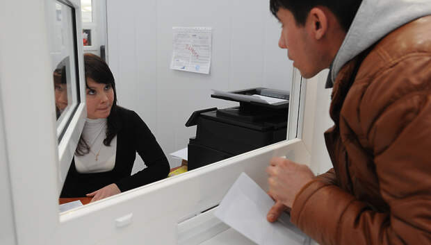 Госуслуги в отделе по вопросам миграции УМВД России по Подольску предоставляют по записи
