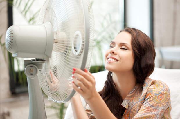 жара, квартира, вентилятор