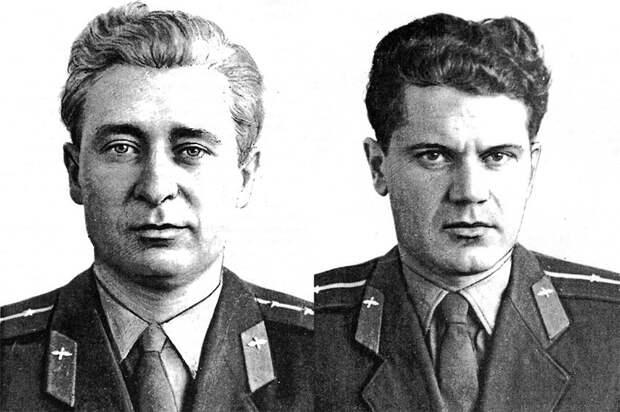 Капитан Борис Капустин и старший лейтенант Юрий Янов Фото: репродукция/Родина