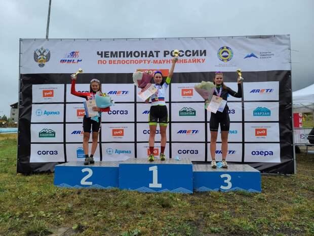 Спортсменка из Ижевска завоевала серебро чемпионата России по маунтинбайку