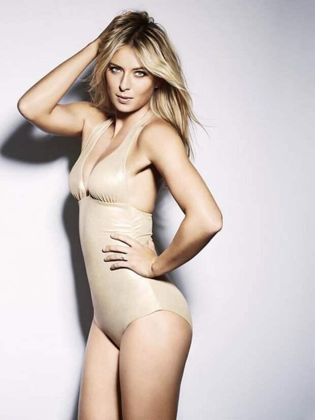9. Настоящая модель красотки, мария шарапова, теннис, фотосессии