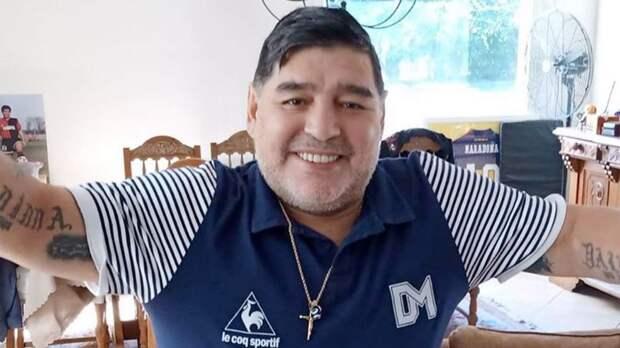 Марадона за последние 6 лет жизни потратил на близких почти 5 млн долларов