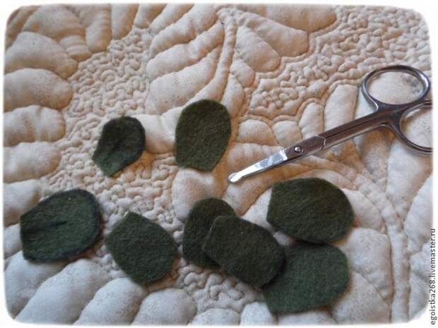 вышивка шерстью