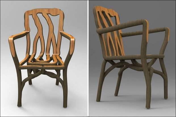 Как вырастить мебель идея, креатив, мебель, оригинальное