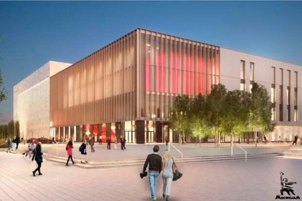 На «Мосфильме» началось строительство киноконцертного комплекса