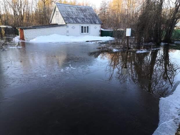 Вероятность подтопления восьми населённых пунктов сохраняется в Нижегородской области