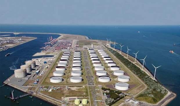 Упали поставки газа вЕвропу в ноябре 2020