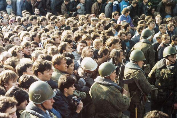 Расстрел Белого дома в 1993 г.