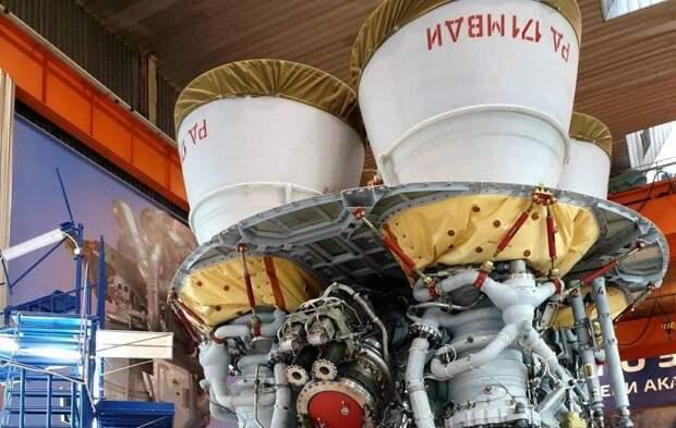 В России испытан мощнейший жидкостный ракетный двигатель в мире