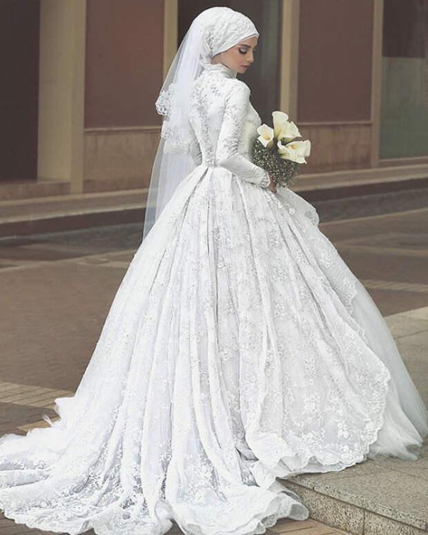 Женщина в исламе: 25 фотографий прекрасных мусульманских невест в свадебных хиджабах