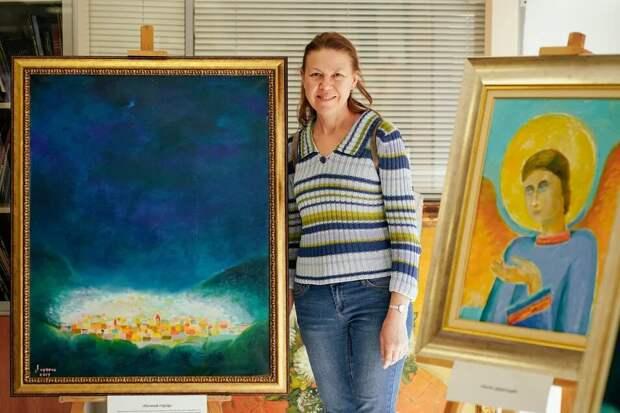Приглашаем всех встретиться в выходные на выставке картин С.Н.Лазарева!
