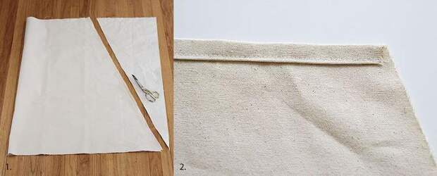 Как легко сделать кресло-гамак из ткани для детской комнаты
