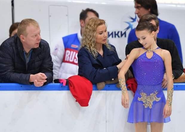 Щербакова рассказала о требовательности Тутберидзе