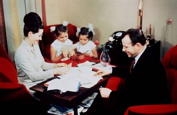 Трогательное письмо Юрия Гагарина своей семье