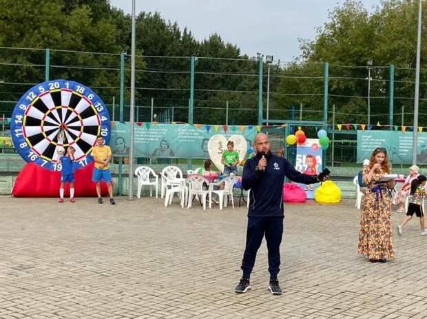 На стадионе «Свиблово» прошли праздничные спортивные игры