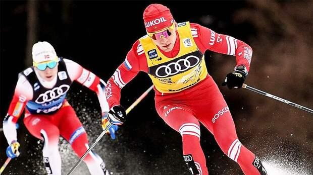 Большунов — о падении перед финишем: «Норвежская тактика»