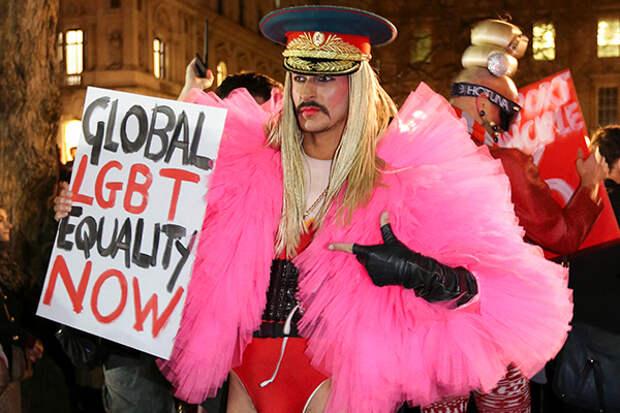 Гомосексуалисты размножаются с помощью пропаганды